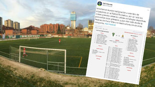 SAD Villaverde express anger after being beaten 31-0 by Real Madrid youth team
