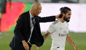Zidane 'pushing' Isco out of Real Madrid