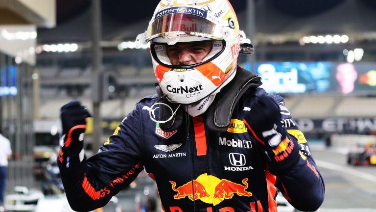 Verstappen shocks Mercedes for pole at F1's finale