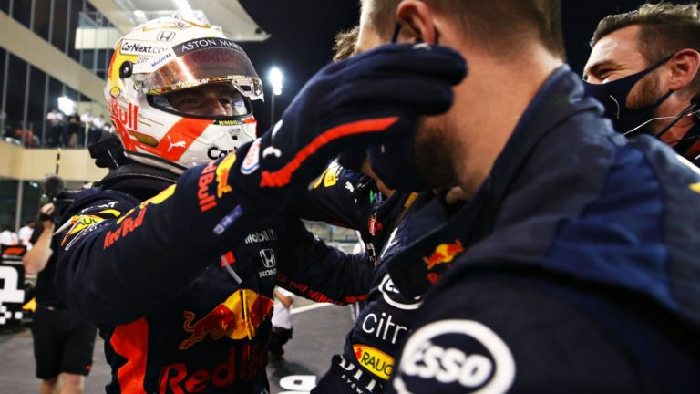 Verstappen crushes Mercedes to win F1 finale