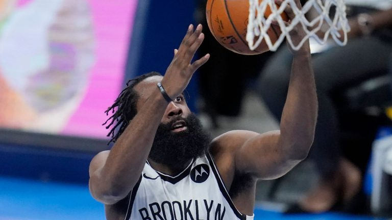 Harden's triple-double leads Nets in win over Thunder