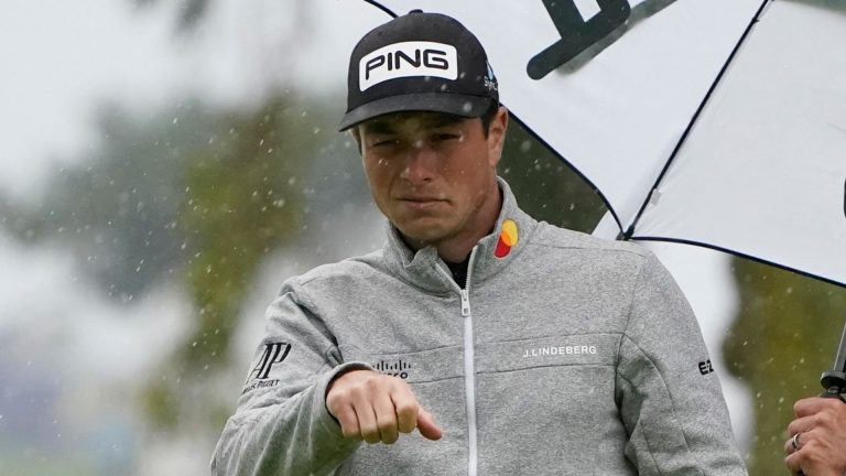 Hovland steals lead from Rahm and co at Torrey