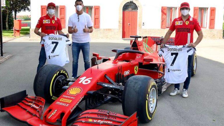 F1 Gossip: Ronaldo drops in on Ferrari