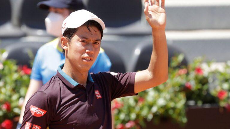 Nishikori wary of COVID-19 threat at athletes' village